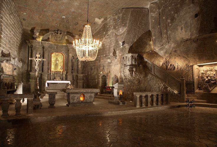 Mines de sel de Wieliczka - Pologne
