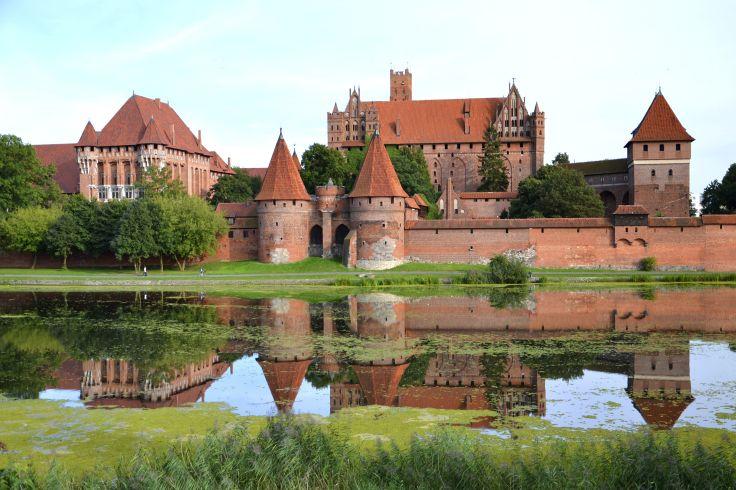 Château de Malbork - Pologne
