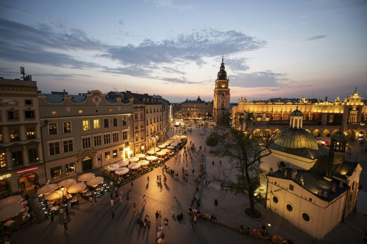 Place du marché principal - Cracovie - Pologne