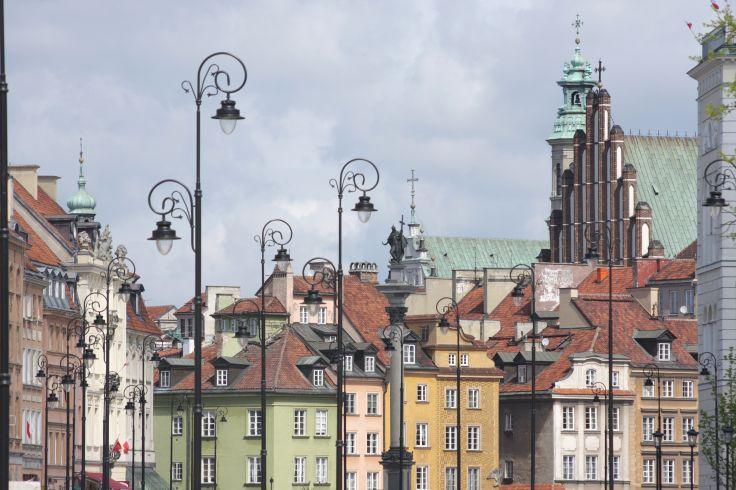 Place du Château - Varsovie - Pologne