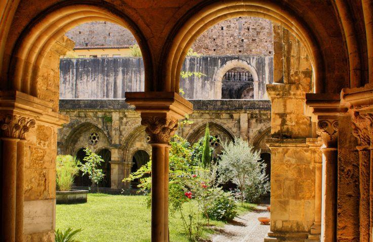 Cathédrale Velha - Coimbra - Portugal