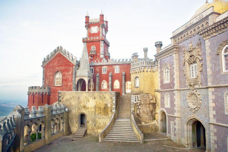 Palais national de Pena - Sintra - Portugal
