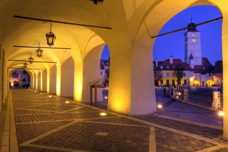 Petite Place de Sibiu - Roumanie