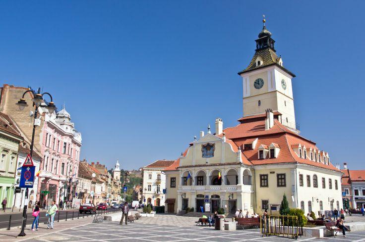 Place du Conseil - Brasov - Roumanie