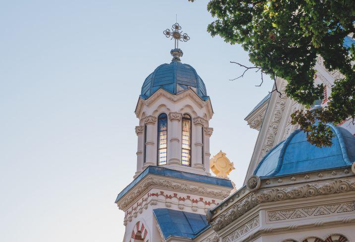 Eglise Amzei - Bucarest - Roumanie
