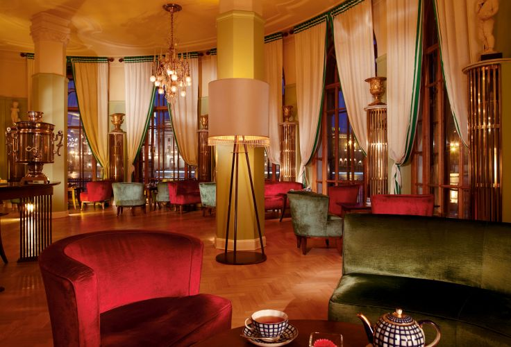 Hotel Astoria (Rotonda Lounge) - St Petersbourg - Russie