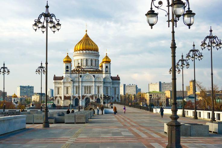 Cathédrale Saint Sauveur - Moscou - Russie