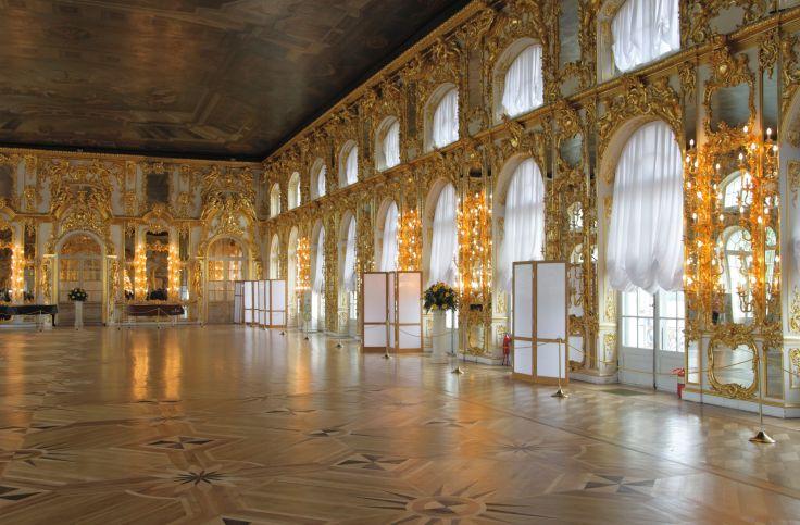 Le Palais de Catherine II - Saint Petersbourg - Russie