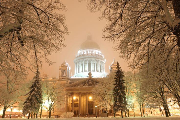 Canaux, dômes & palais baroques - Réveillon à Saint-Pétersbourg