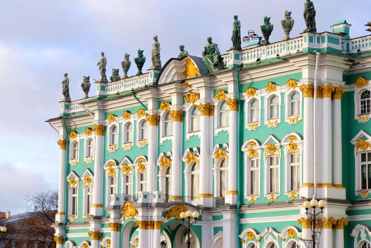 L'Ermitage - St Petersbourg - Russie