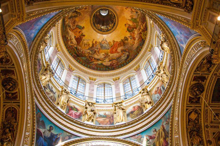 Cathédrale Saint Isaac - Saint Petersbourg - Russie