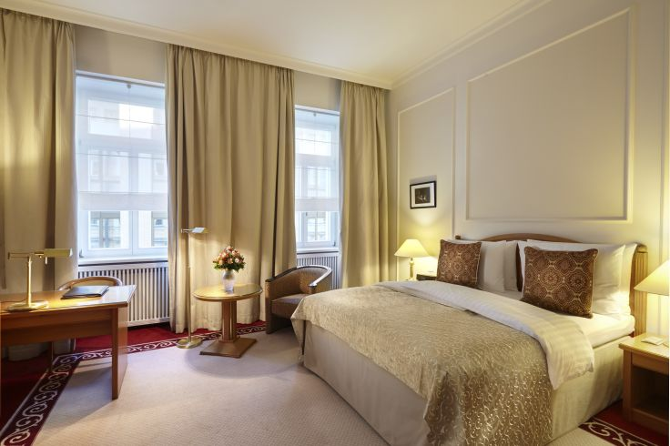 Hotel Baltschug Kempinsky (Superior room) - Moscou - Russie