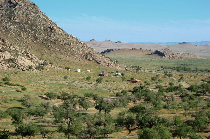 Parc national de Khogno Khan - Mongolie