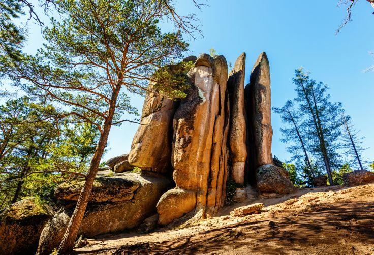 Parc Naturel de Stolby - Krasnoyarsk - Russie
