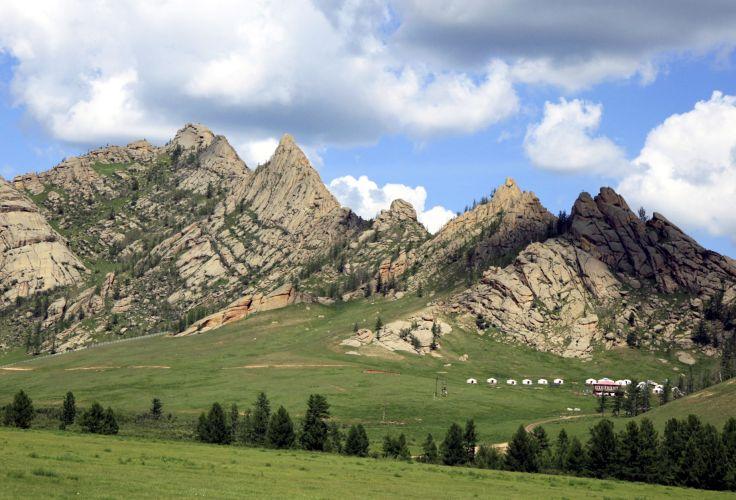 Parc national Gorkhi-Terelj - Mongolie