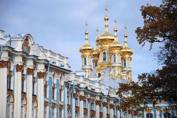 Palais Catherine à Pouchkine - Saint-Pétersbourg - Russie
