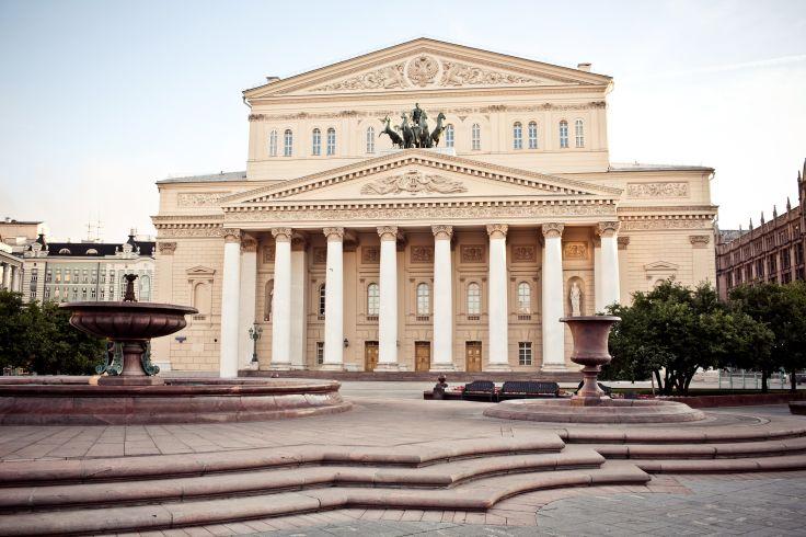 Théâtre Bolchoï - Moscou - Russie
