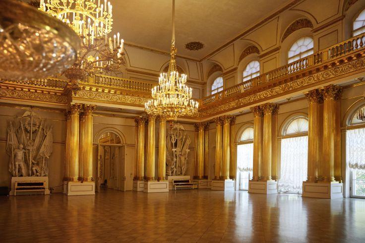 Musée de l'Ermitage - Saint-Pétersbourg - Russie