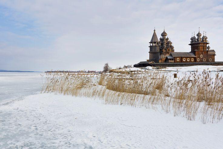 Île de Kiji - Carélie - Russie