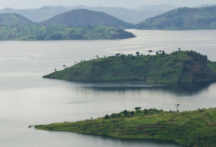 Lac Kivu - Région des Grands Lacs - Rwanda