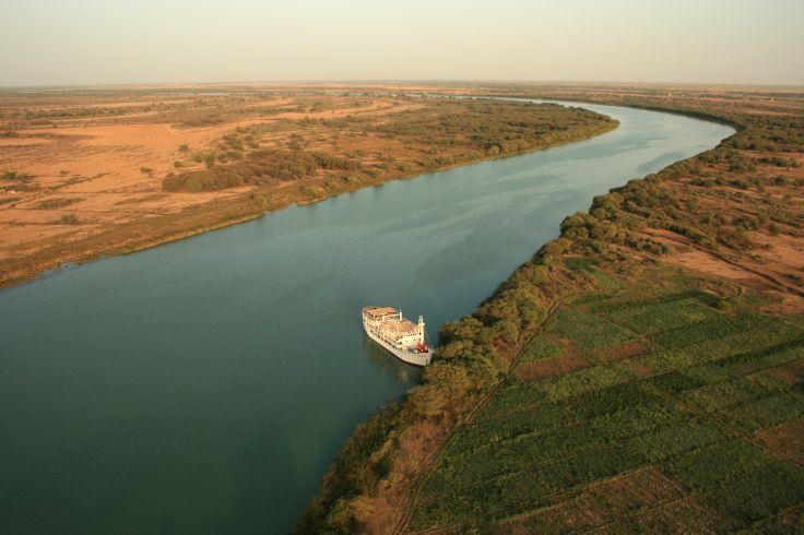 Croisière sur le fleuve Sénégal à bord du Bou el Mogdad