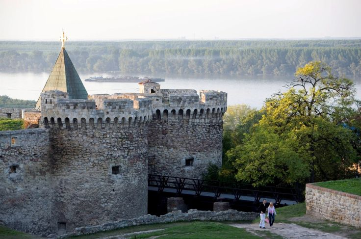 Forteresse de Belgrade - Serbie