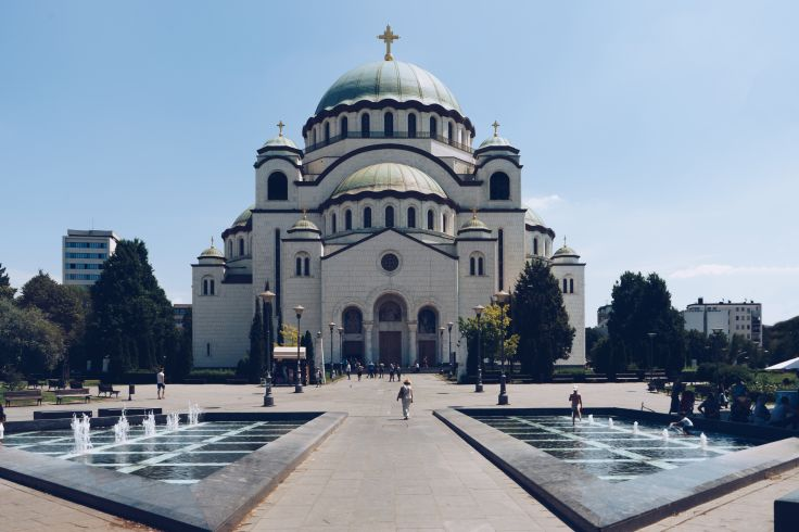 Église Saint-Sava de Belgrade - Serbie