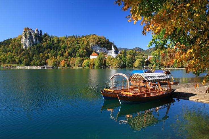 Château et lac de Bled - Slovénie