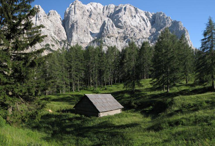 Massif de Prisojnik - Parc National de Triglav - Slovénie