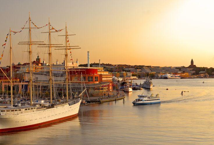 Port de Göteborg - Suède