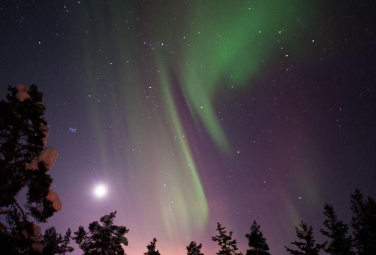 Aurore boréale - Suède