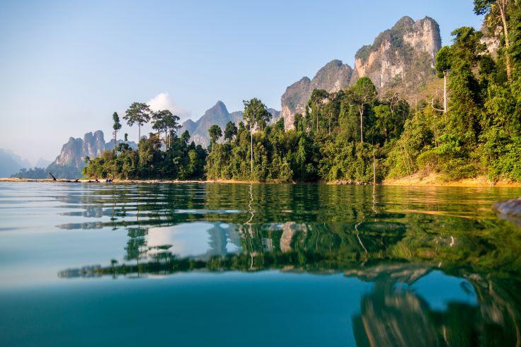 Vacances d'hiver en Thaïlande - Ensemble entre mer et jungle
