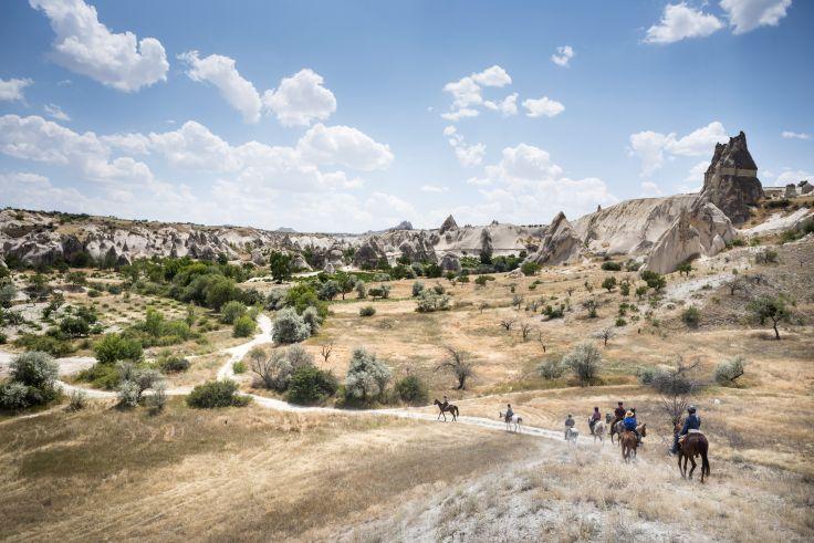 Région d'Uchisar - Cappadoce - Turquie