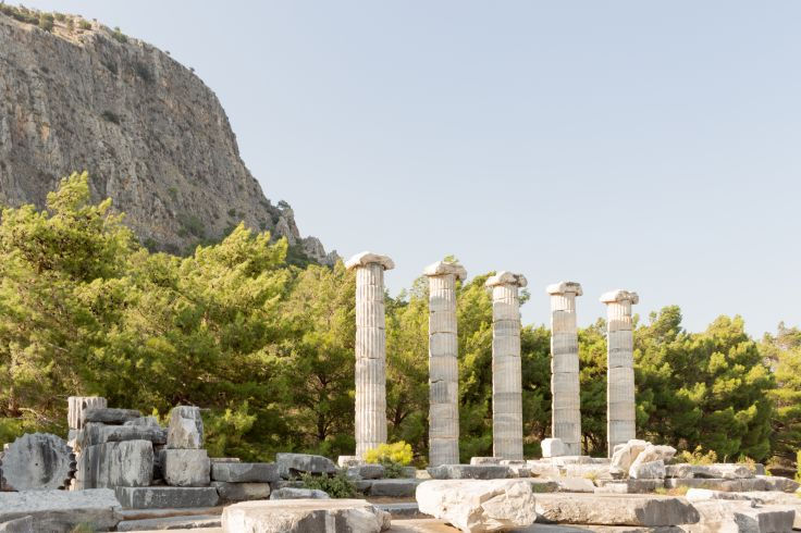 Voyage Dephèse Turquie à Lîle De Chios Grèce