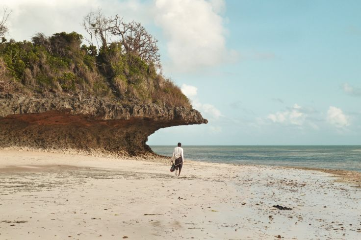 Sur la côte est de Zanzibar - Tanzanie