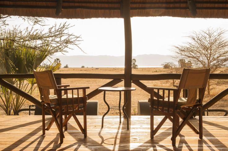 Impalas, lodges et cocotiers - Grand Rift et océan à deux