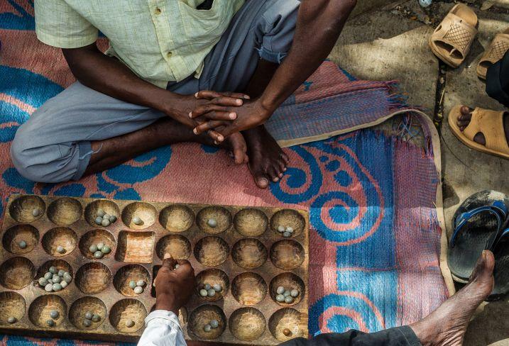 jeu de Bao - Tanzanie