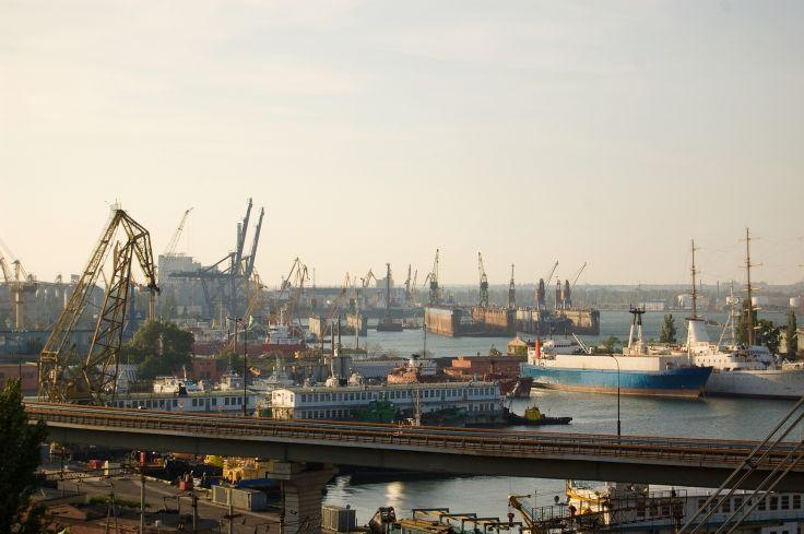 Port d'Odessa - Ukraine
