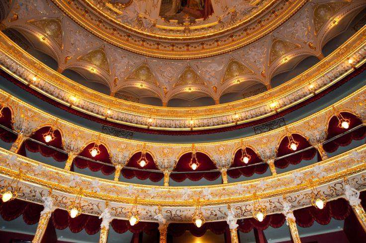 Odessa - Théâtre d'Opéra et de Ballet - Ukraine