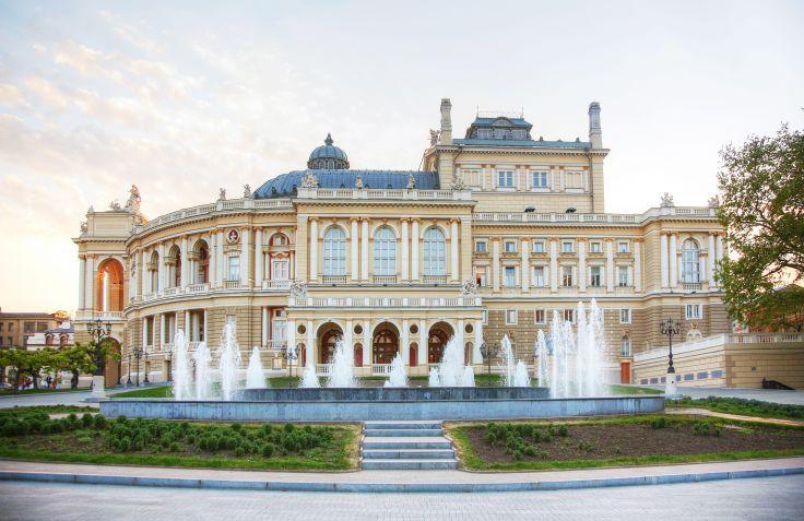 Théâtre d'opéra et de ballet d'Odessa - Ukraine
