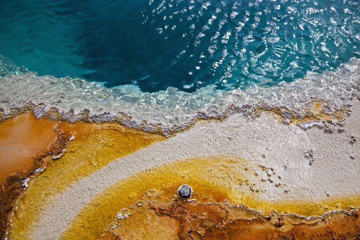 Hot spring Black Pool - Yellowstone National Park - Wyoming - Etats-Unis