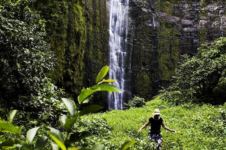 Chutes de Waimoku - Parc national de Haleakala - Hawaï