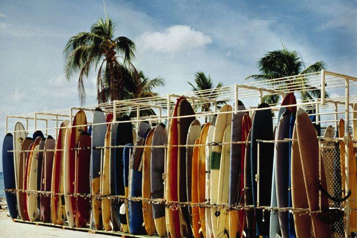 Plage de Waikiki - Hawaï