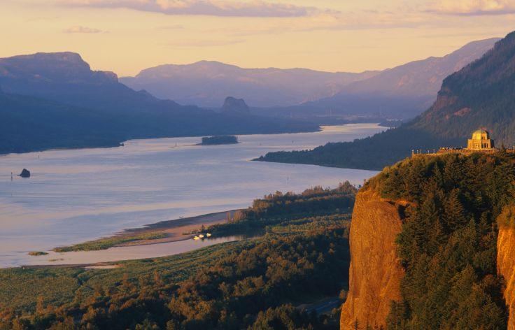 Crown Poin - Columbia River  - Oregon - Etats-Unis
