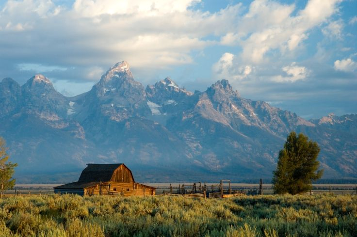 Parc national de Grand Teton - Wyoming - Etats-Unis