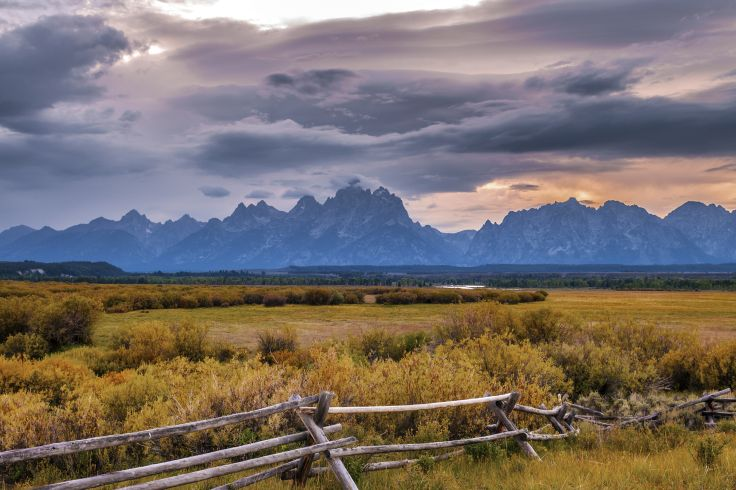 Jackson Hole - Parc national de Grand Teton - Wyoming - Etats-Unis