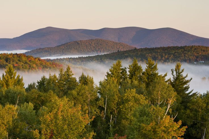 Milan Hill State Park - New Hampshire - Etats-Unis