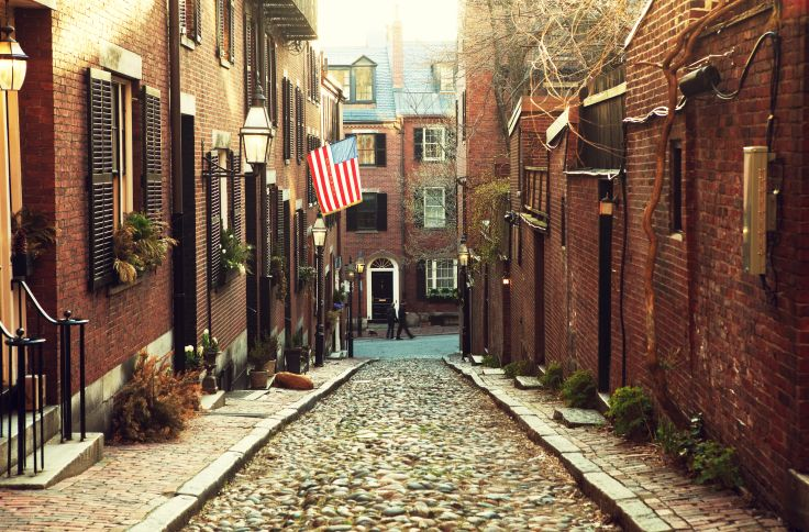 Beacon Hill - Boston - Massachusetts - Etats-Unis