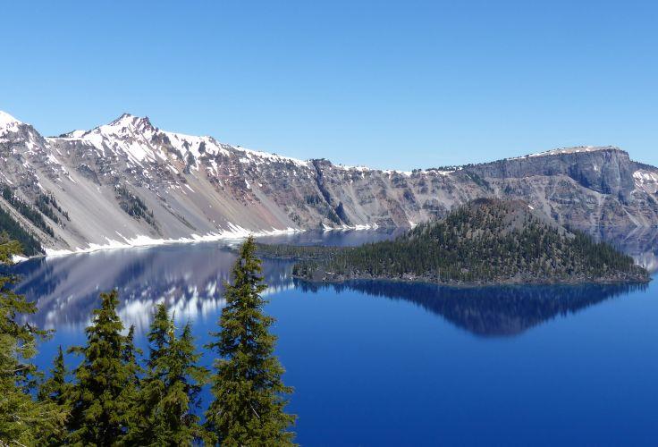 Île Wizard - Crater Lake - Oregon - Etats-Unis