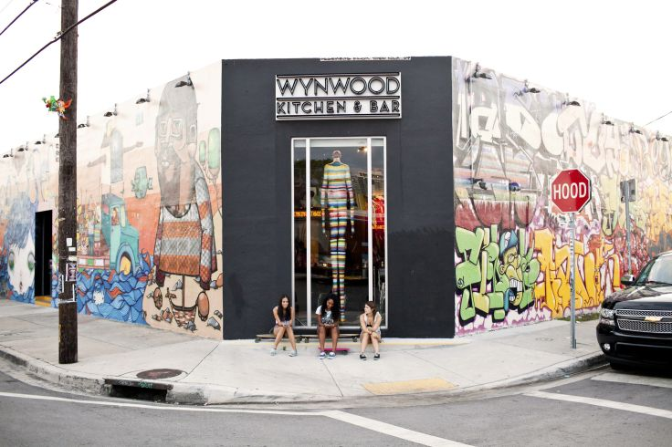 Wynwood Art District - Miami - Floride - Etats-Unis